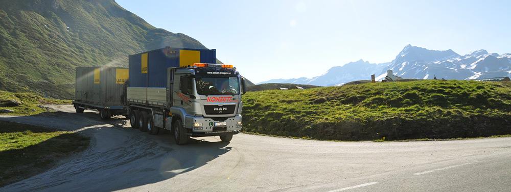 Konzett Transport GmbH - Über uns